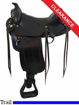 "16"" Big Horn Western Flex Gaited Saddle 1684 CLEARANCE"