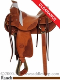"17"" Billy Cook Wade Tree Saddle 2181"