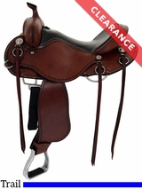 "17"" Cashel Medium Trail Saddle CLEARANCE"