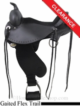 "17"" Circle Y Alabama Flex2 Trail Gaiter Saddle 1581"