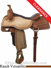 "17"" Circle Y Julie Goodnight Rocky Mountain High Performance Versatility Saddle 1470"