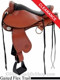 "17"" Circle Y Mississippi Trail Gaiter Saddle 1585"
