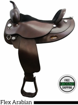 "PRICE REDUCED! 17"" Circle Y Mojave Desert 1561 Flex2 Arabian Saddle, Exclusive uscy3102 *Free Shipping*"