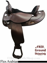 "17"" Circle Y Mojave Desert 1561 Flex2 Arabian Saddle, Exclusive uscy3102 *Free Shipping*"