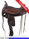 "17"" Circle Y Omaha Flex2 Trail Saddle 1554"