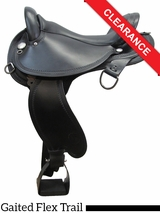 "16"" Circle Y Virginia Flex2 Endurance Trail Gaiter Saddle 1588 CLEARANCE"