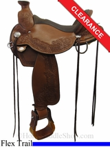 "16"" Circle Y Walnut Grove Flex2 Trail Saddle 1157"