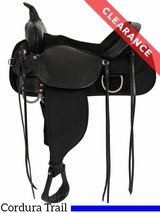 "17"" High Horse by Circle Y Corsicana Cordura Trail Saddle 6920 CLEARANCE"