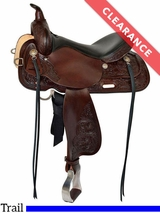"17"" High Horse by Circle Y Texas City Trail Saddle 6821 CLEARANCE"
