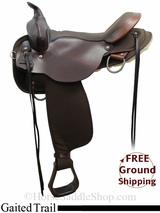 """SOLD 2015/05/22 17"""" High Horse El Campo 6970 Gaited Trail Saddle, Exclusive ushh3107 *Free Shipping*"""