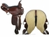 "17"" High Horse Round Rock Gaited Trail Saddle 6870"