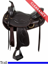 """SOLD 2017/02/21  17"""" The Royale - Tennessean Performance Series� Wide Saddle TPS-120 CLEARANCE"""