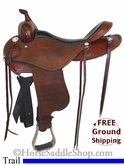"SOLD 11/22/13 $1150 17"" Used Cashel Trail Saddle, Wide Tree usca2674 *Free Shipping*"