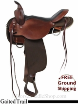 "17"" High Horse El Campo 6970 Cordura Gaited Trail Saddle, Floor Model ushh2981 *Free Shipping*"