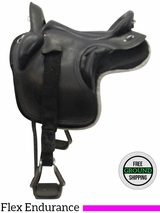 "17"" Used Ortho Flex Medium Flex Endurance Officer Saddle usof3508 *Free Shipping*"
