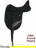 "17"" Used Wintec Dressage Saddle usen2846 *Free Shipping*"