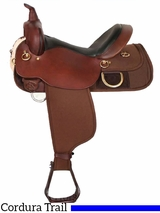 "** SALE ** 18.5"" High Horse by Circle Y Big Rock Cordura Trail Saddle 6923"
