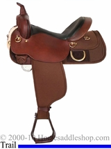 "18.5"" High Horse Big Rock Cordura Trail Saddle 6923"