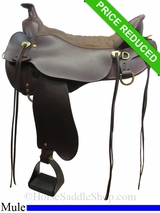 "18.5"" Tucker Pine Ridge Mule Trail Saddle 289"
