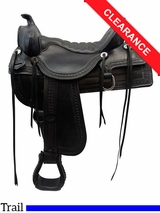 "17.5"" Tucker Saddles Old West Trail Saddle 277 CLEARANCE"