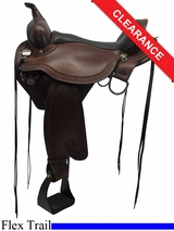 "16"" Circle Y Sheridan Flex2 Trail Saddle 1572"