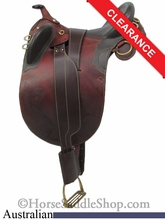 "15"" Stockman Bush Rider Australian Saddle asjt181br"