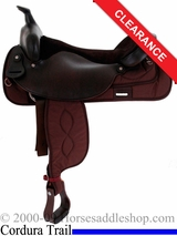 "19"" Big Horn Cordura Trail Saddle 256"