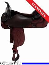 "19"" Big Horn Cordura Trail Saddle 256 CLEARANCE"