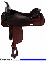 "16""-19"" Big Horn Synthetic Trail Saddle 256"