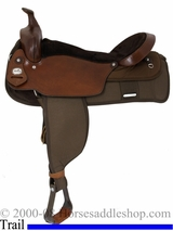 "19"" Fabtron The Big 'Un Trail Saddle, Extra Large Seat 7136"