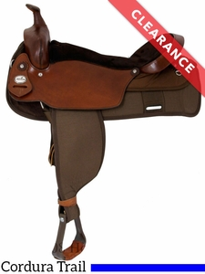 """19"""" Fabtron The Big 'Un Trail Saddle, Extra Large Seat 7136 CLEARANCE"""