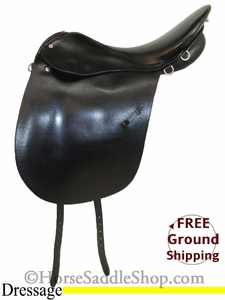 "PRICE REDUCED! 19"" Used Trenck D Dressage Saddle usen2685 *Free Shipping*"