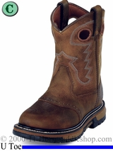4.5 & 5 Youth Rocky Boots