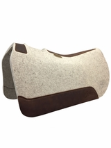 "5 Star ""The Barrel Racer"" Barrel Saddle Pad 28""L x 30""D CLEARANCE"