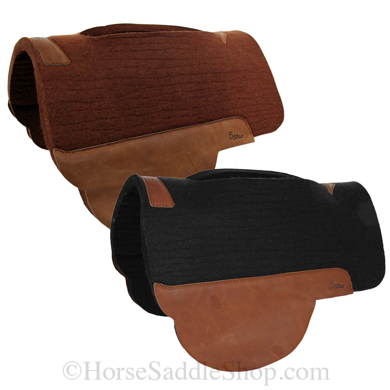 "5 Star Treeless Saddle Pad 28""L x 38""D *free gift*"