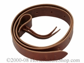 "60"" or 72"" Latigo Leather Western Cinch Strap by Schutz Brothers 93524-93526"