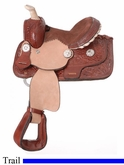 "8"" JT International Miniature All Around Barrel & Trail Saddle KS862"