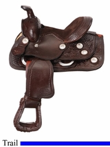 "8"" JT International Miniature All Around Trail Saddle KS628"