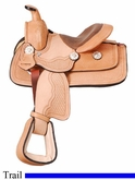"8"" JT International Miniature All Around Basket Saddle KS638"