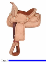 "8"" JT International Miniature Western Deluxe Saddle KS872"