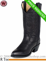 8.5, 9.5 Medium Durango Women's Black Leather Western Boot rd4100