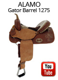Alamo Gator Cross Barrel Saddle 1275 Video Review