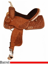 "14"" to 16"" American MJ Barrel Racer Saddle 529"