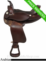 "SOLD 2015/04/23 16"" American Saddlery The Antar Arabian Saddle am915-916"