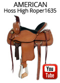 American Saddlery Hoss High Roper 1635 Video Review