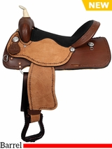 "12"" to 16"" American Saddlery Lexie Collection Barrel Saddle 600"