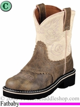 Ariat Kid's Fatbaby Boots Brown Bomber 1995