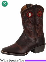 Ariat Kids Roughstock Wide Square Toe Boots 10014101