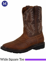 Ariat Men's Aged Bark Sierra Square Toe Boots 10010148