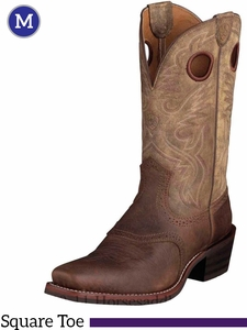 Ariat Men's Heritage Roughstock Boots Square Toe Earth 10002230